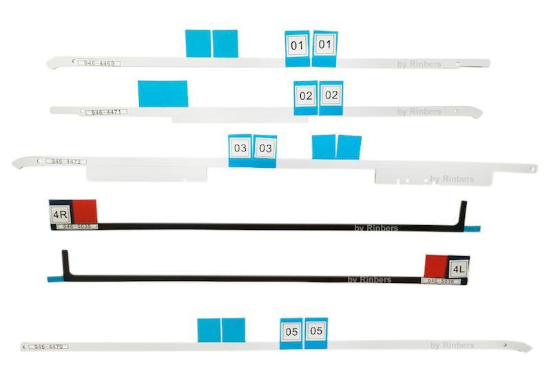 kit LCD biadesivo A1418 imac