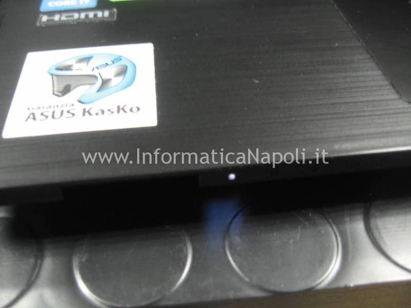 led bianco schermo nero ASUSPRO P2520L P552LA_LJ