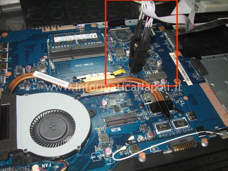 programmazione recovery ripristino BIOS Asus ASUSPRO P2520L P552LA_LJ