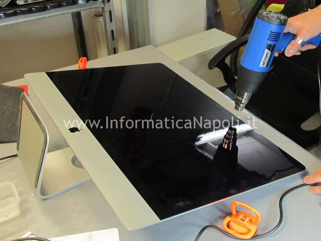 aprire display upgrade SSD Apple iMac 27 slim A1419 2012 2013 2014 2015 2016 2017