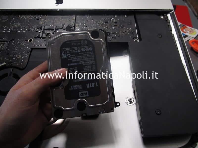 upgrade SSD HDD Apple iMac A1419 27