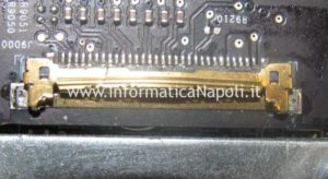 problema connettore lvds video Apple iMac 21.5 A1418