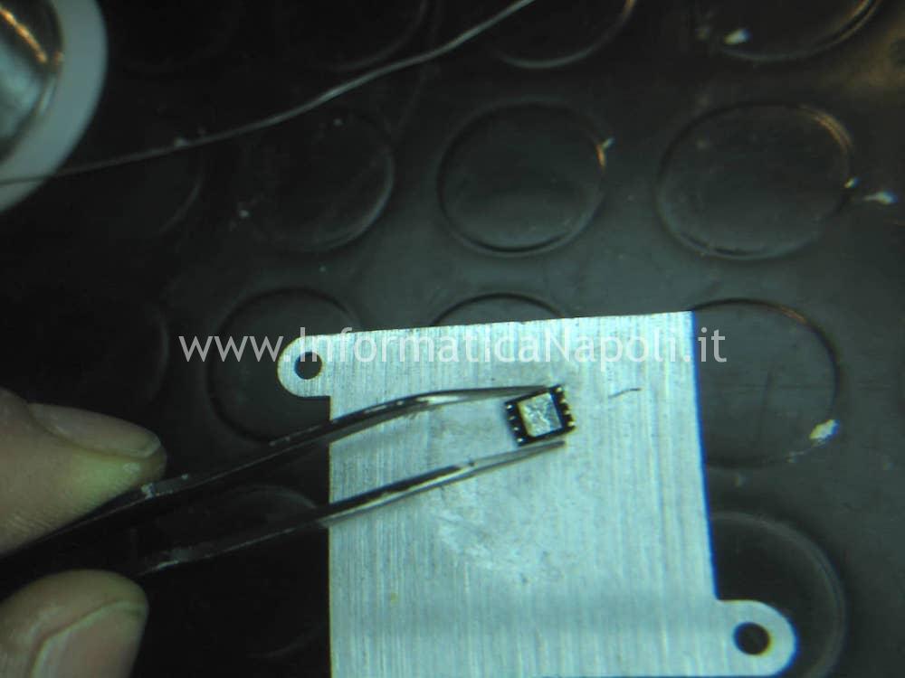 rimuovere programmare chip wson8 macbook pro 13 retina