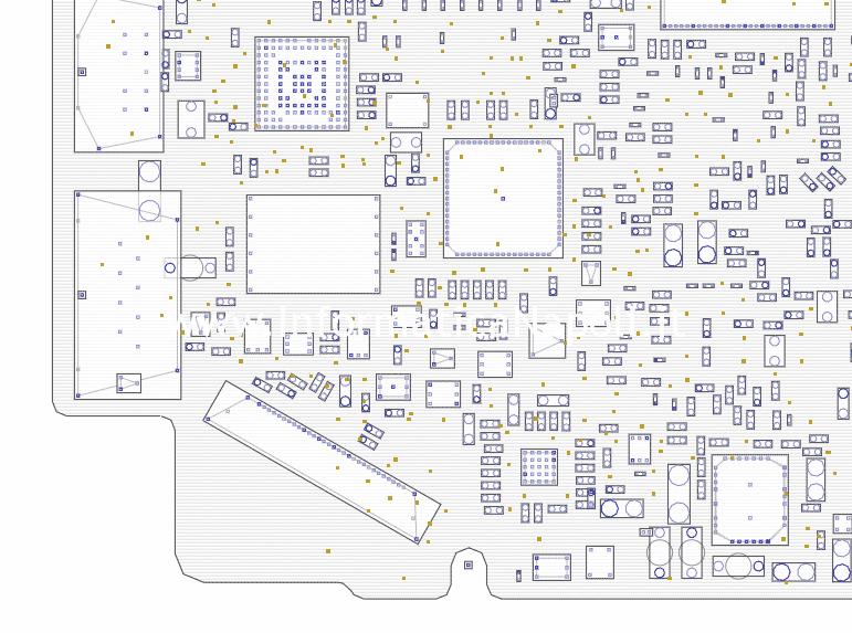 birdview riparazione schema elettrico riparazione scheda 820-3115-B a1278 macbook