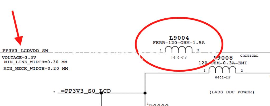 schema elettrico riparazione scheda 820-3115-B a1278 macbook