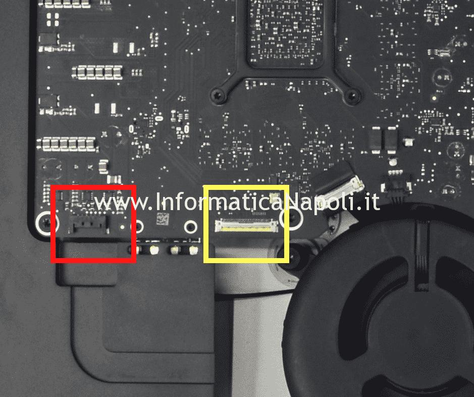 come aprire smontare display Apple iMac A1419 27