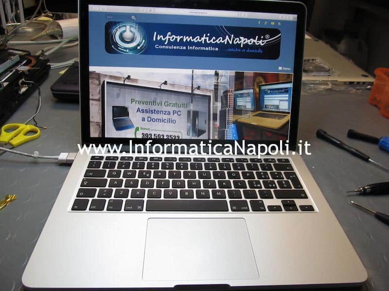 assistenza apple macbook pro retina 13