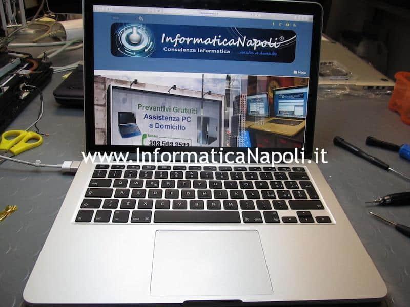 assistenza apple macbook pro retina 13