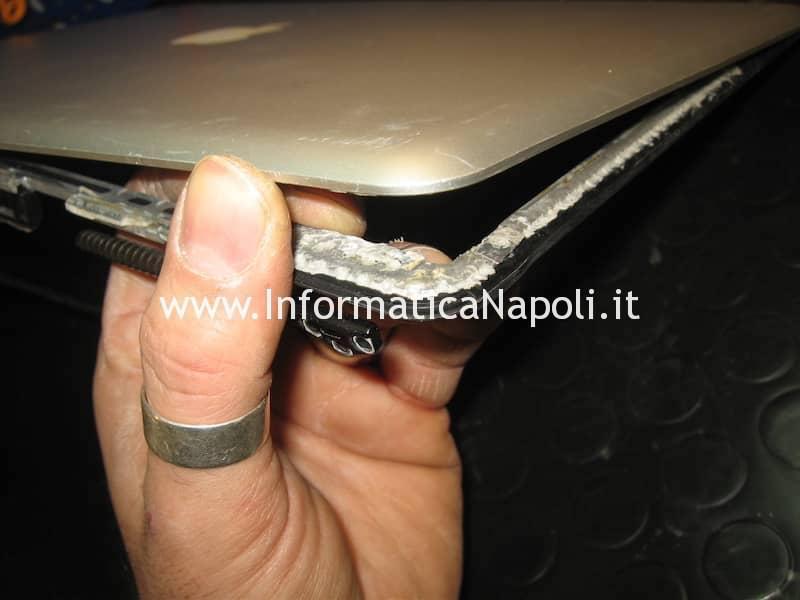 riparazione struttura scocca macbook pro 13 15 17 A1278 A1286 A1297