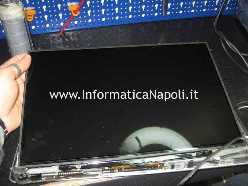 rimozione display macbook