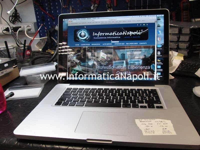 display macbook pro riparato