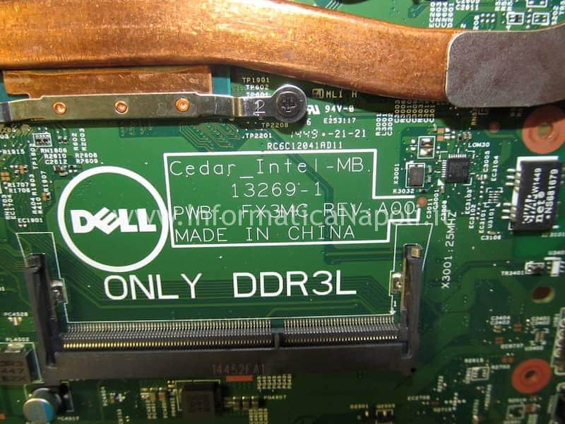 dell 15 3000 motherboard 13269-1 FX3MC REV A00
