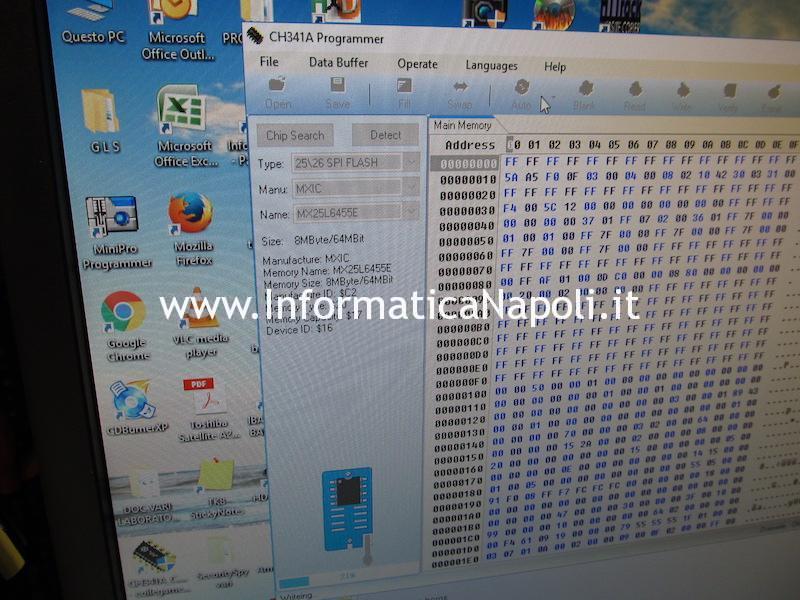 riprogrammazione apple macbook A1534