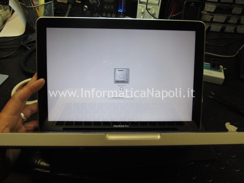 Problema blocco macbook 13 a1278 risolto