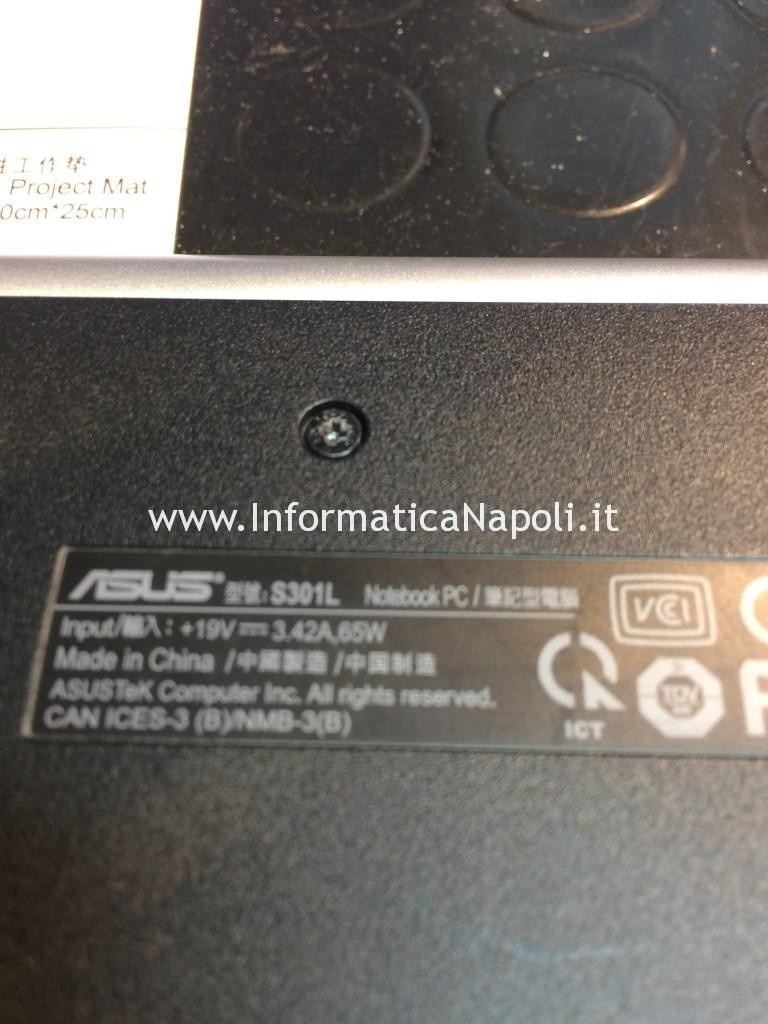 problema Asus S301L | S301LA | S301LP