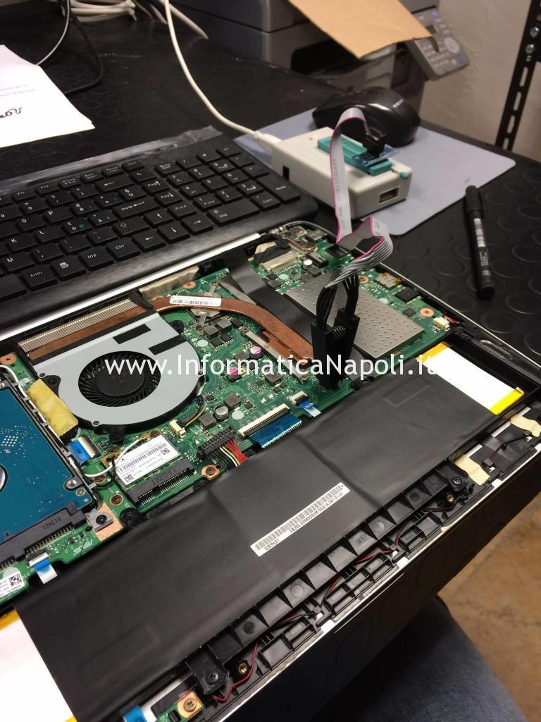 recovery restore riprogrammazione bios Asus VivoBook S301L | S301LA | S301LP