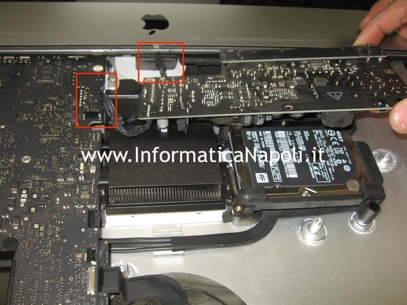 come riparare PSU alimentatore 185W APA007 02-6712-6700 661-6700 661-7111 661-7512 E131875 iMac 21.5 slim A1418