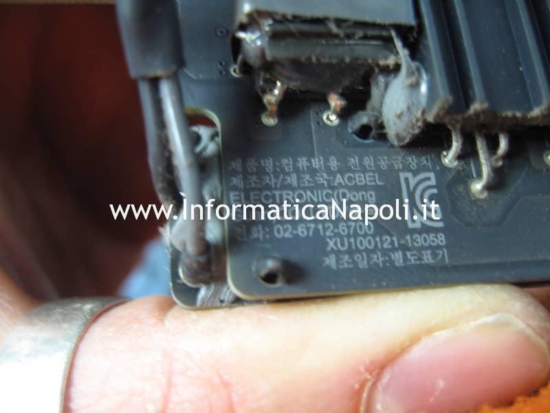 problema fulmine iMac 21.5 slim A1418 2012 2013 2014 2015 non si accende