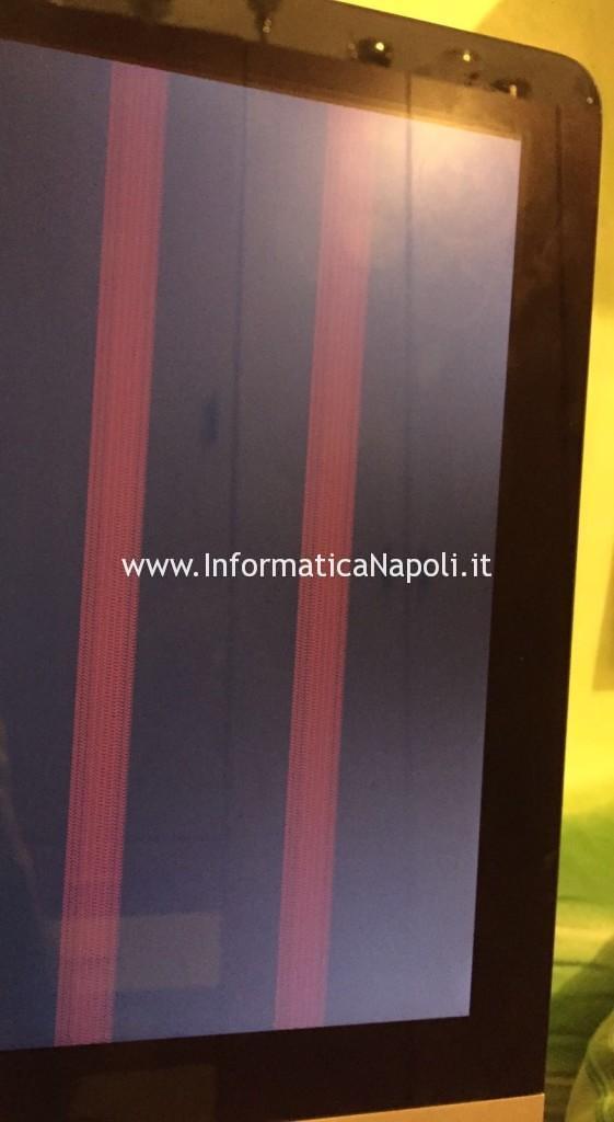 righe verticali iMac