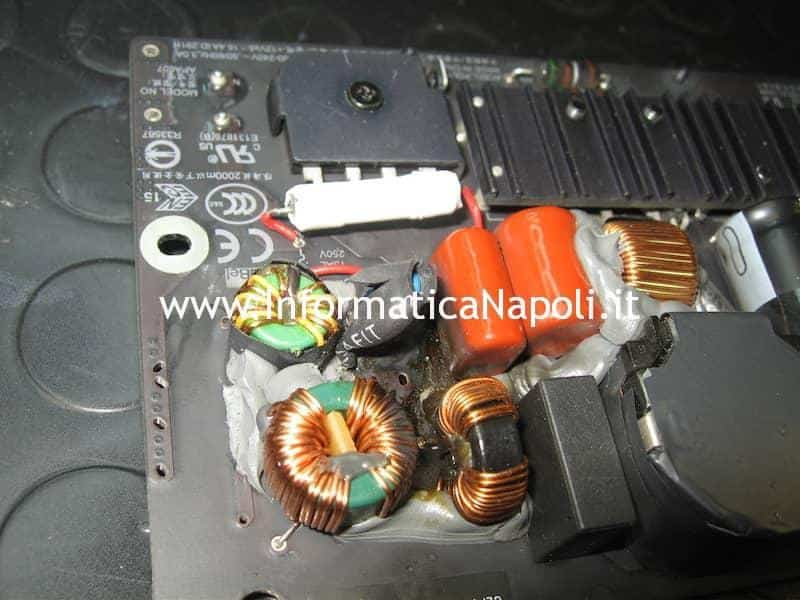 alimentatore PSU iMac 21.5 slim A1418 2012 2013 2014 2015 riparato funzionante