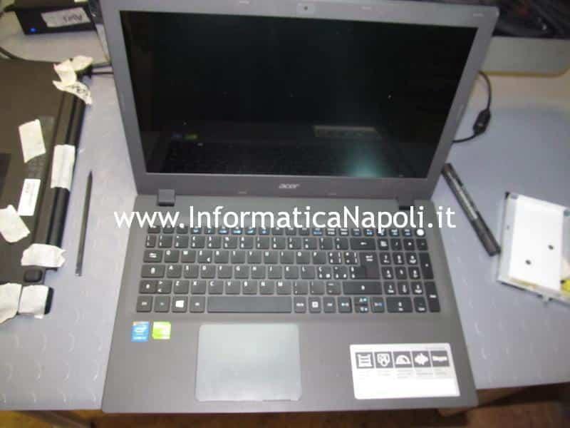 problemi accensione Acer Aspire E5 573 E5-573G-326Z N15Q1 MB ZRT