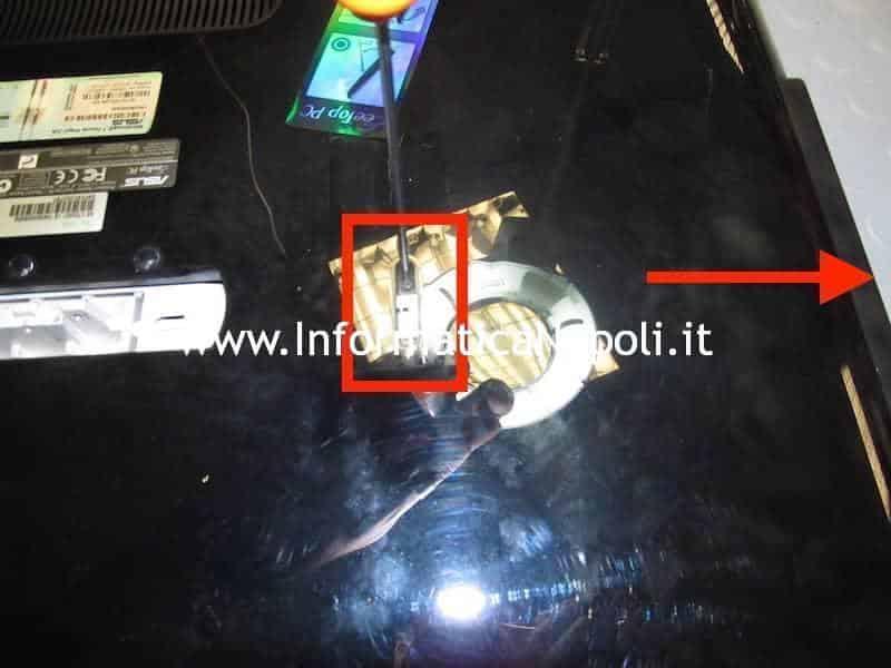 apertura riparazione ASUS EeeTop PC ET2203T