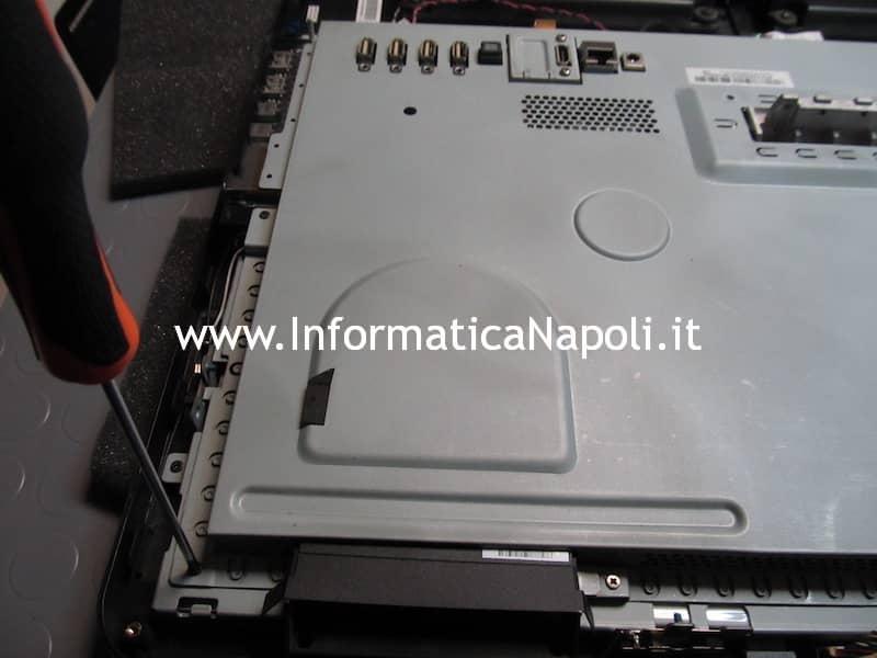 pulire ventola dissipatore ASUS EeeTop PC ET2203T