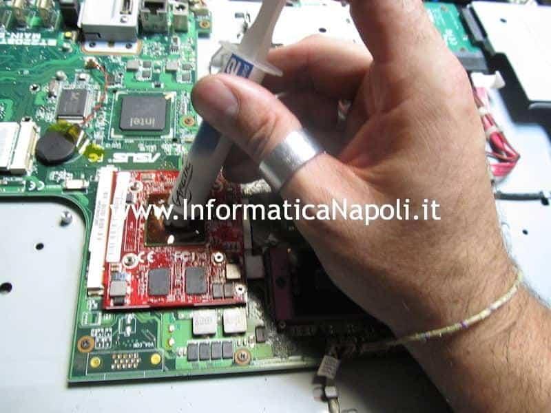 sostituzione pasta termica ASUS EeeTop PC ET2203T