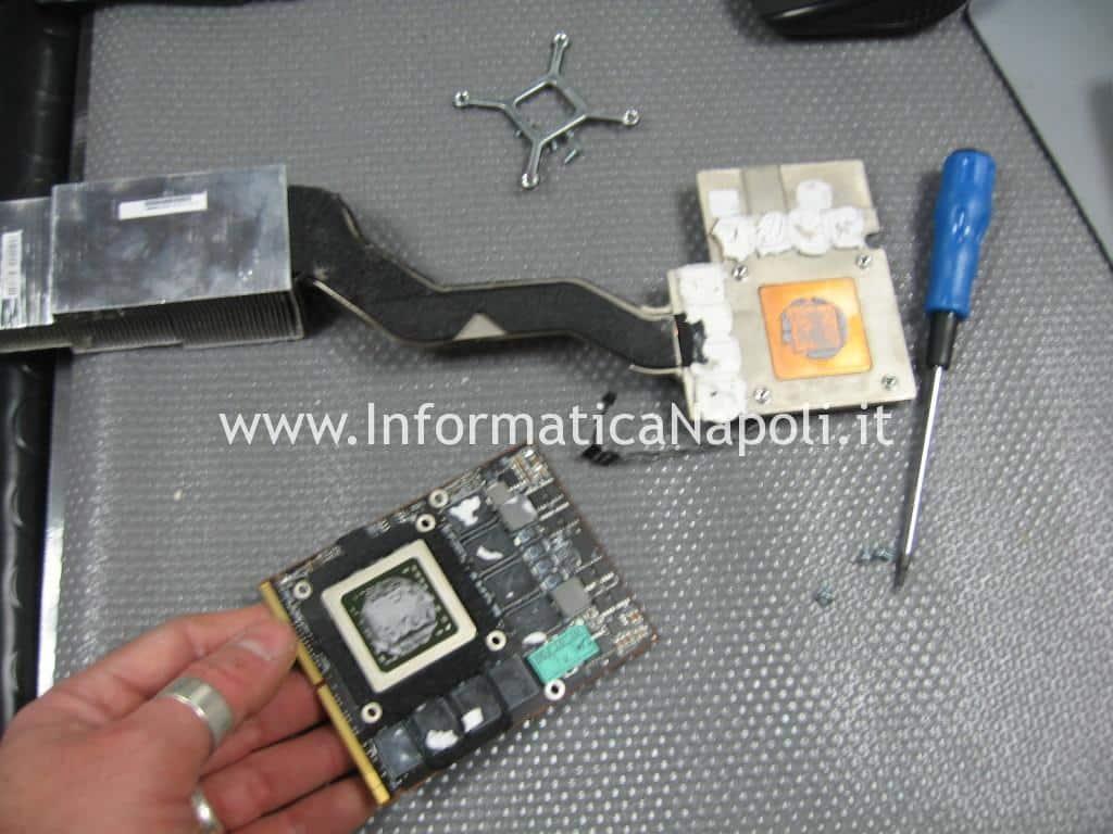 scheda video imac da riparare