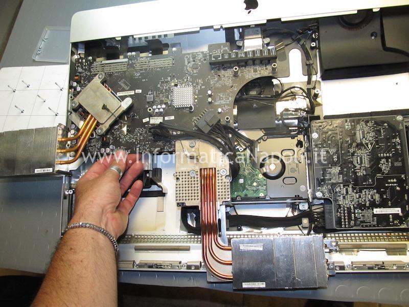 riparare scheda logica video apple imac 27