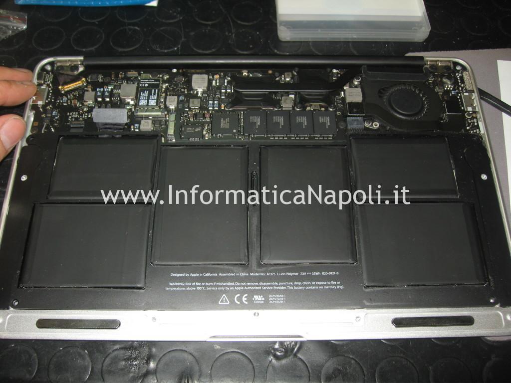 problema beep avvio Apple MacBook Air 11 A1370 A1465 820-2796-A   820-00164-03   820-3208-A