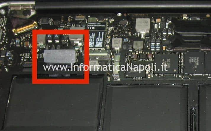 riparazione problema 3 beep Apple MacBook Air 11 A1370 A1465 late 2010 2011 2012 2013 2014 201
