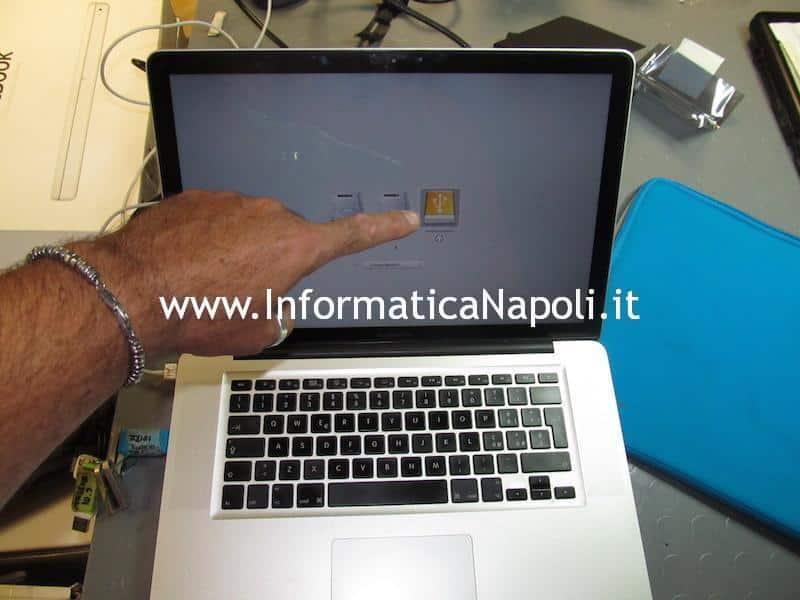 installazione SSD fusion macbook