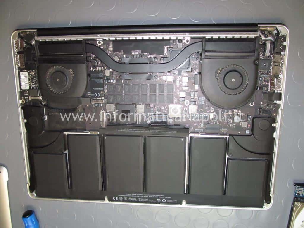 problema avvio MacBook Pro 15 retina A1398