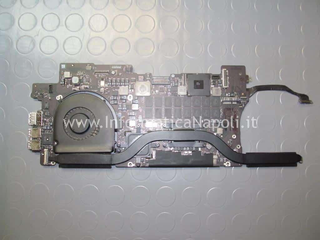 reballing chip grafico scheda logica 820-3332-A MacBook Pro 15 retina A1398 EMC 2512