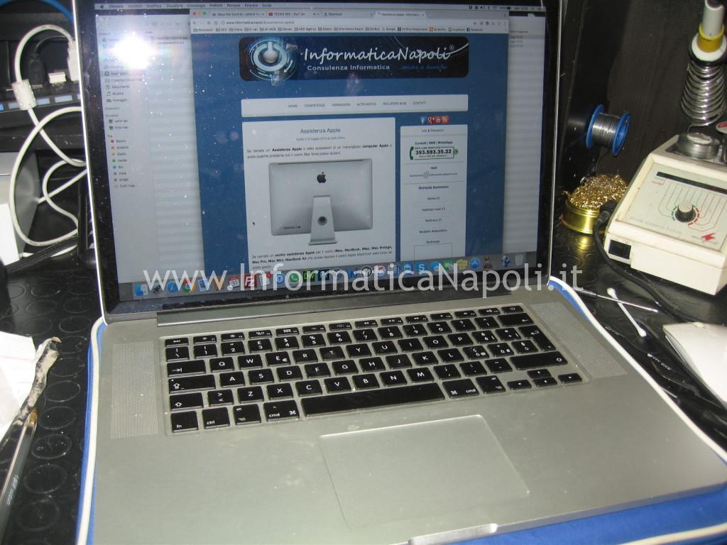 MacBook Pro 15 retina A1398 EMC 2512 2012 riparato funzionante
