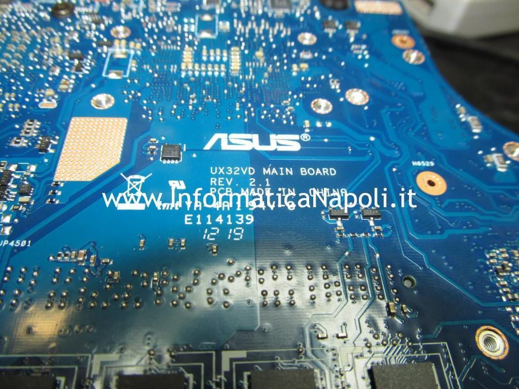 come riparare UX32VD main board 2.1