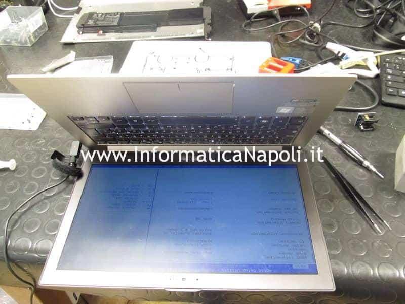 Asus ZenBook UX32 UX32VD riparato si accende