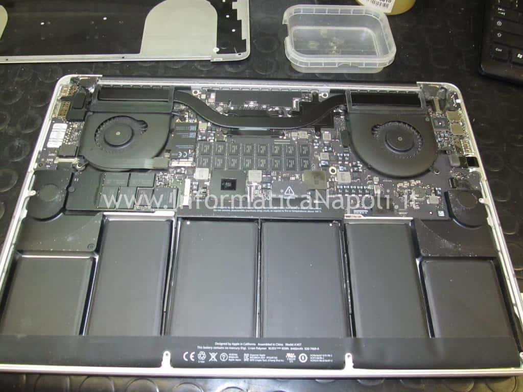 Riparazione MacBook Pro 15 retina A1398