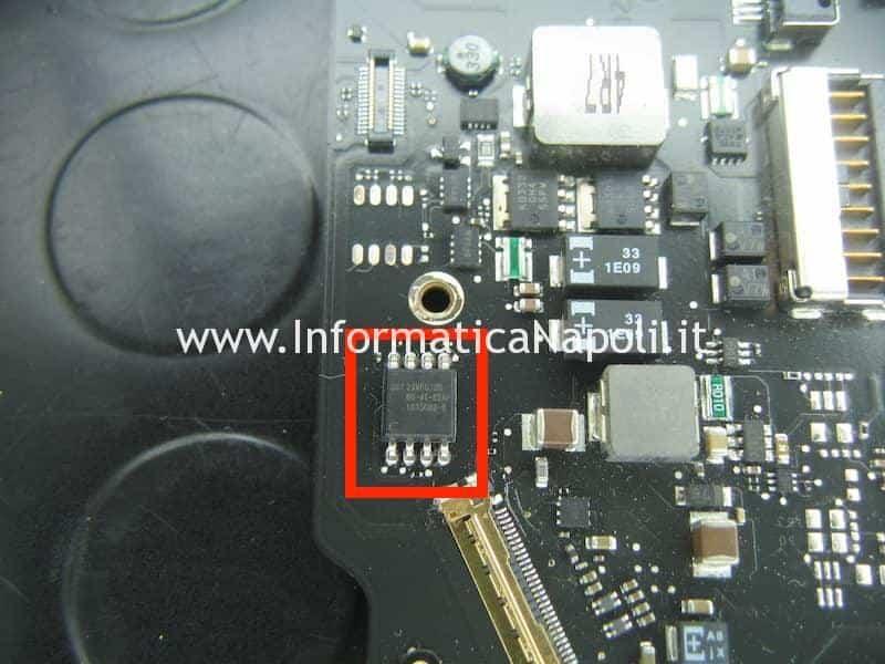 efi macbook air 11 820-2796-A SST 25VF032B