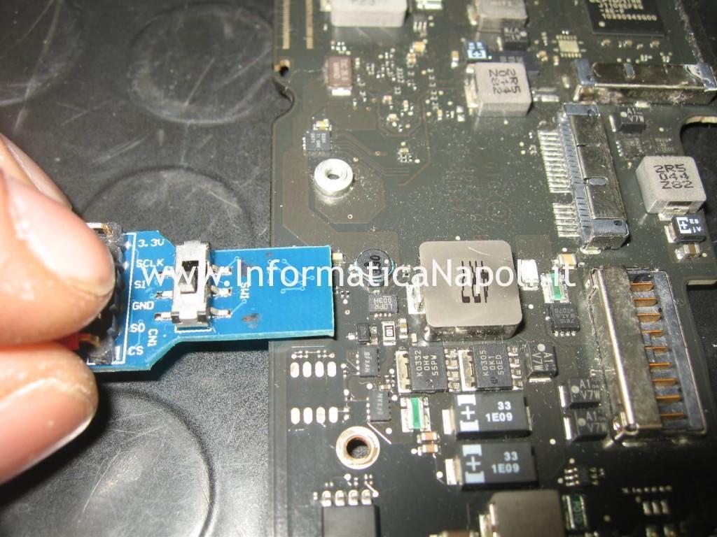 richiesta password blocco MacBook Air 11 A1370   A1465
