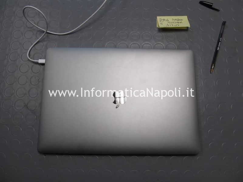 problema codice MacBook 15 retina 2016 2017 touchbar A1707