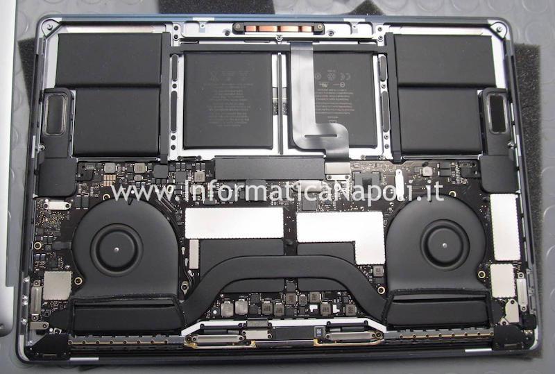 scheda logica motherboard MacBook 15 retina A1990 2018 2019