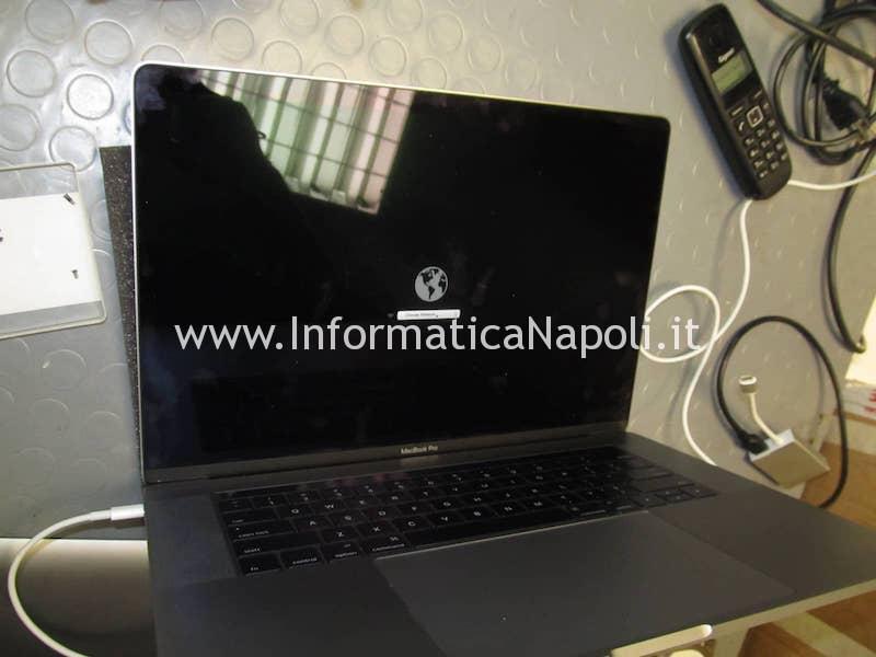 installazione macos MacBook 15 retina 2016 | 2017 touchbar A1707 820-00281-A 820-00281-10