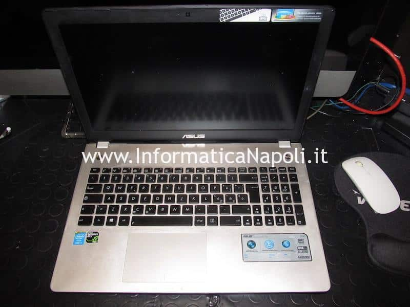 Problema accensione schermo nero Asus N56JN