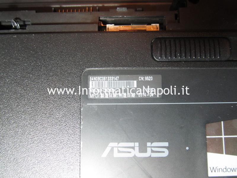 Come aprire e riparare Asus N56J