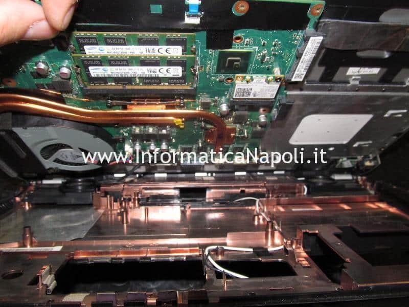 come riparare Asus N56J