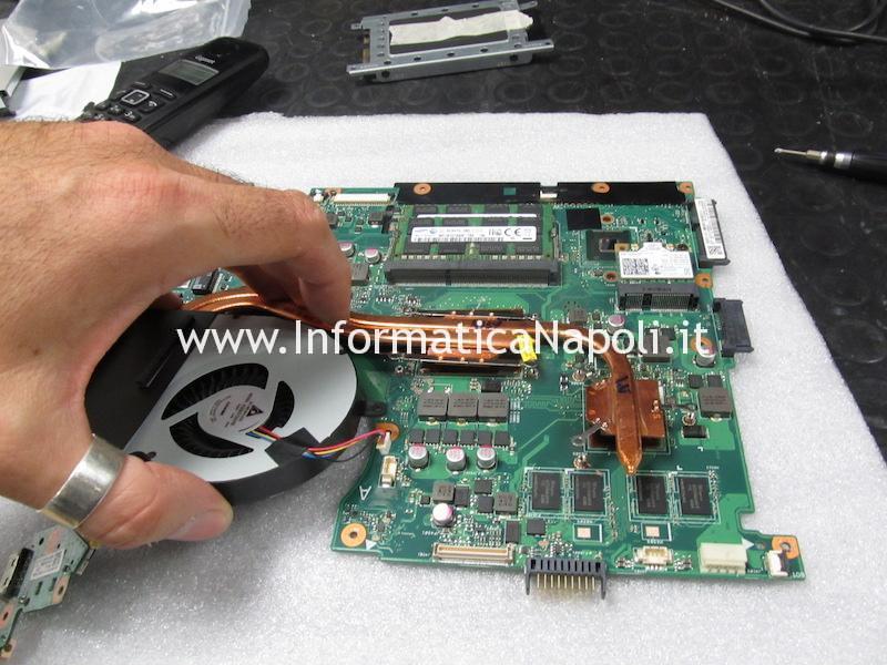 come riparare scheda madre Asus N56JN 2.0