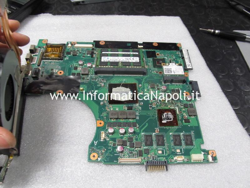 riparazione assistenza scheda madre Asus N56JN 2.0