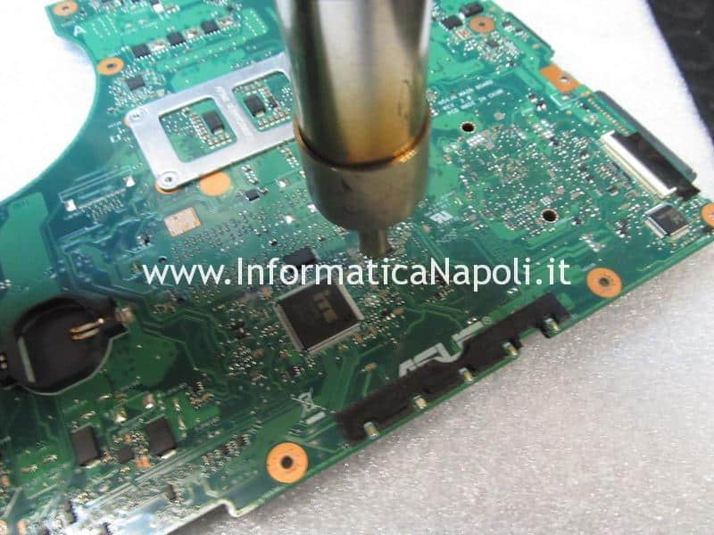 sostituzione chip bios ripristino bios chip bios Asus N56JN 2.0